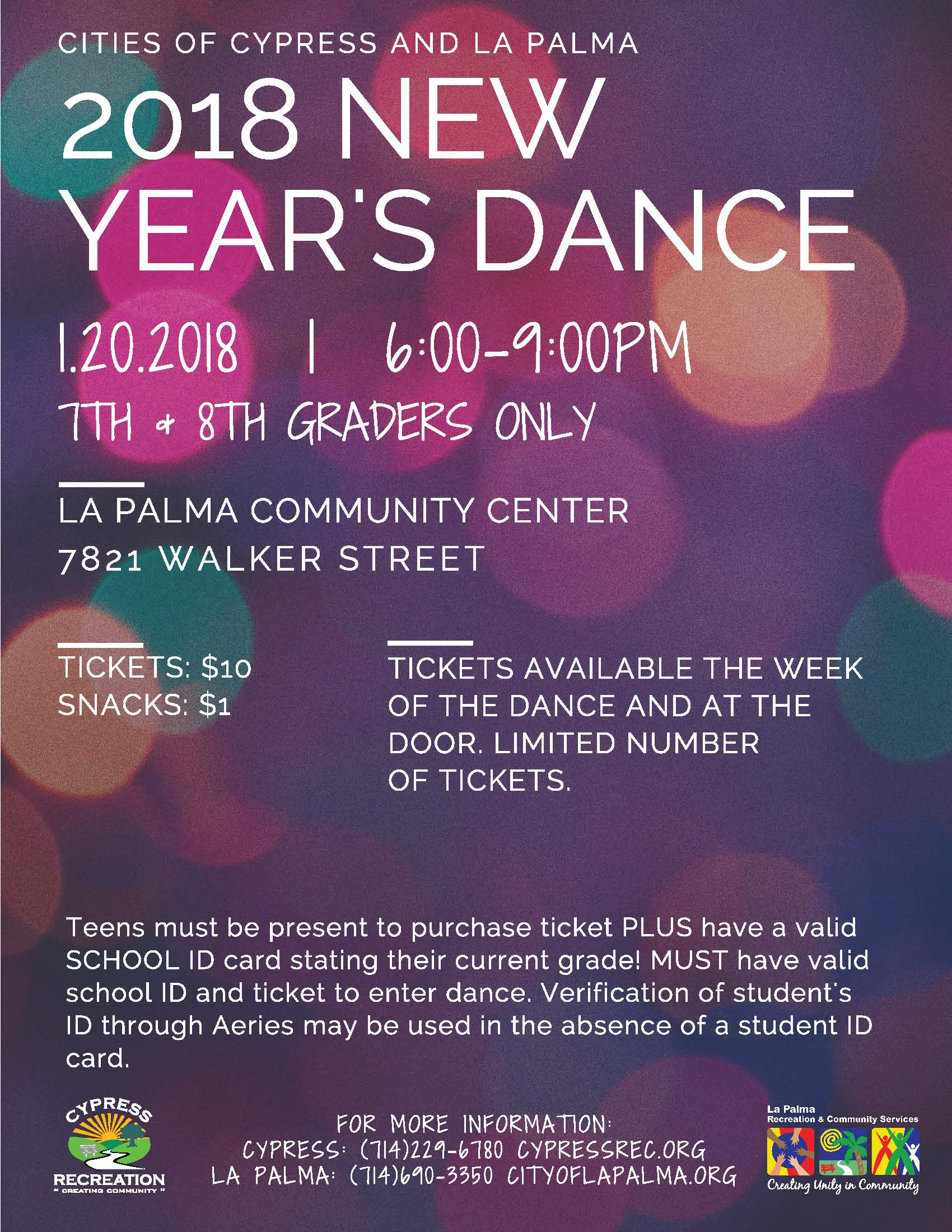 2018 New Years Dance