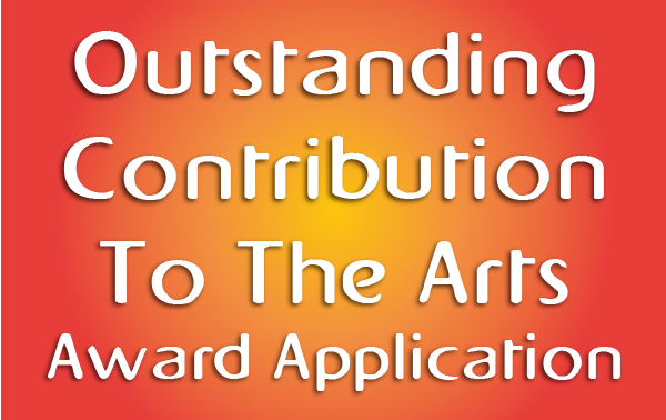 Outstanding Contribution to the Arts Award