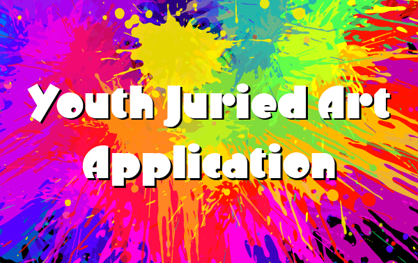 Youth Juried Art Application