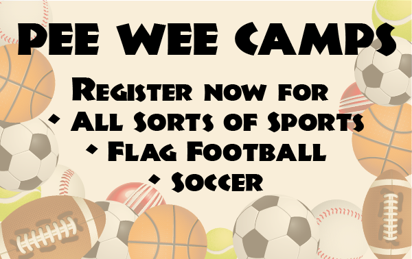 pee wee camps graphic