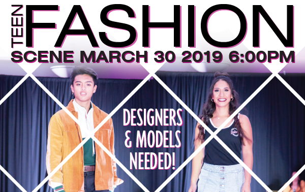 Teen Fashion Scene Designers & Models Needed