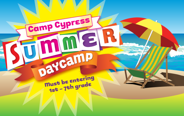 summer day camp graphic
