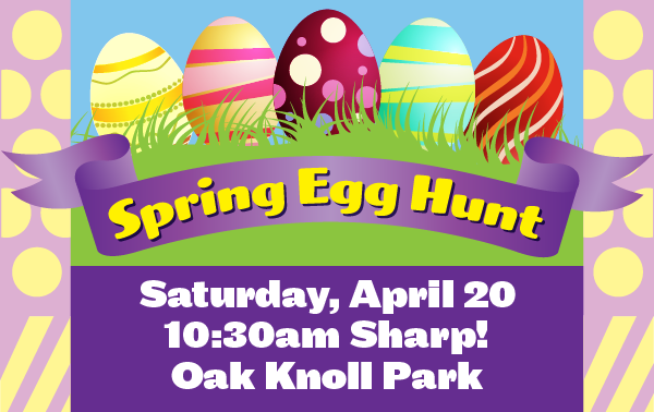Egg hunt graphic