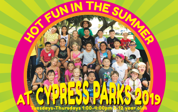 Hot Fun in the Summer at Cypress Parks