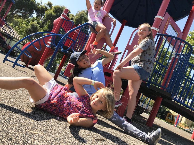 summer fun in parks photo