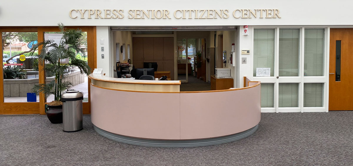 Senior Center City Of Cypress